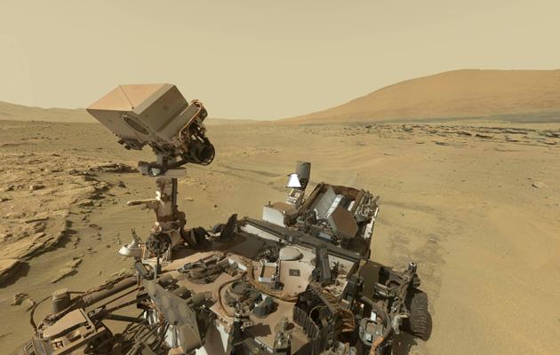 Curiosity 新照片帶你重遊火星