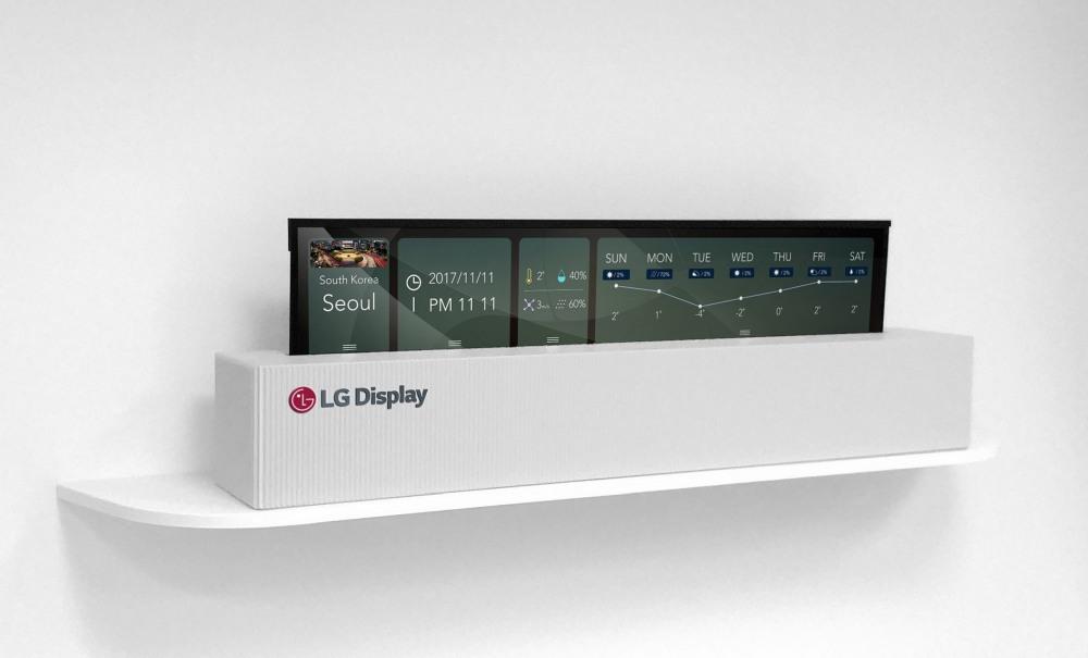 LG Perkenalkan Layar OLED 65 Inci yang Bisa Digulung