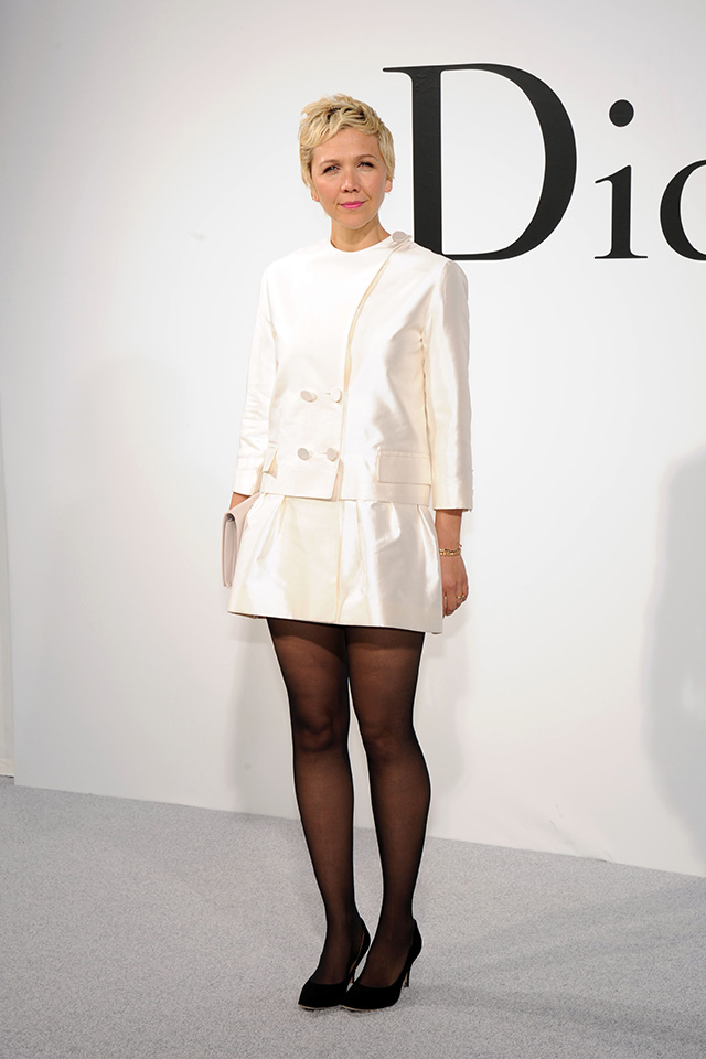 Maggie Gyllenhaal at the Christian Dior Cruise Show