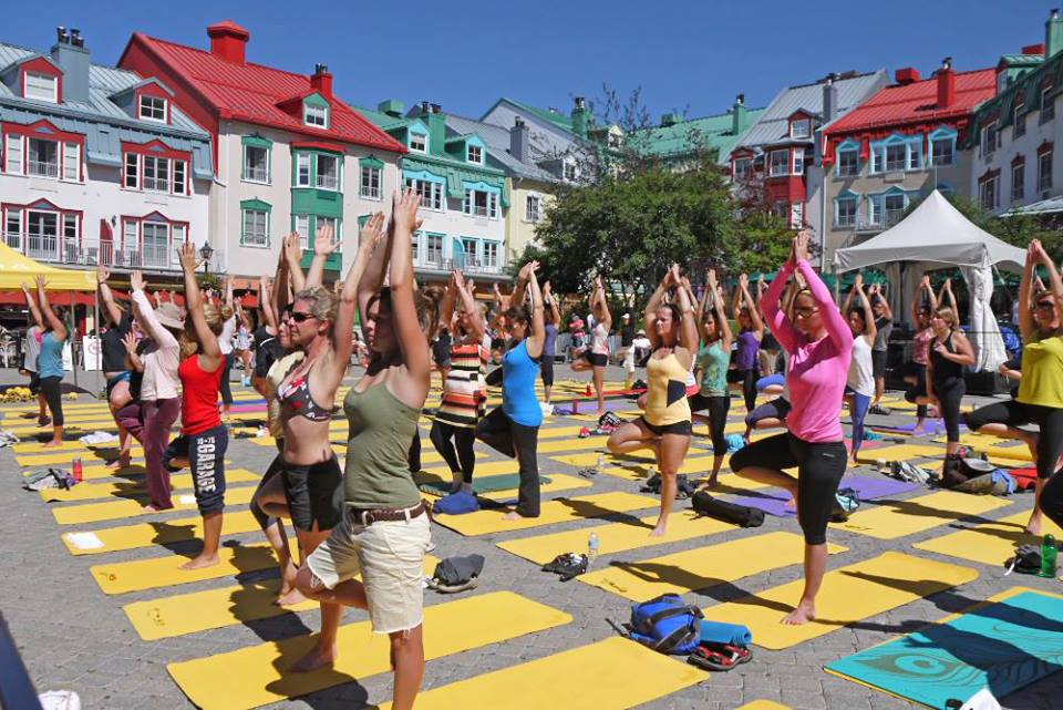 Où pratiquer le yoga cet