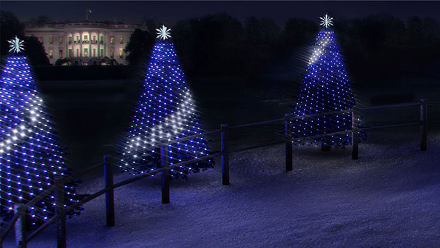 kids can program the white houses christmas tree lights this year - Christmas Tree Made Of Lights