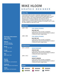 the last template is for academics or anyone who needs a resume that lists research and publications