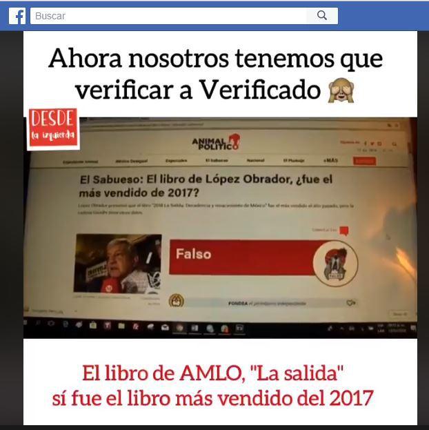 Obrador presumió que su libro La Salida fue el más vendido en Gandhi y esto contestó la