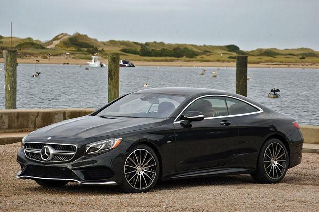 2015 Mercedes S550 Coupe
