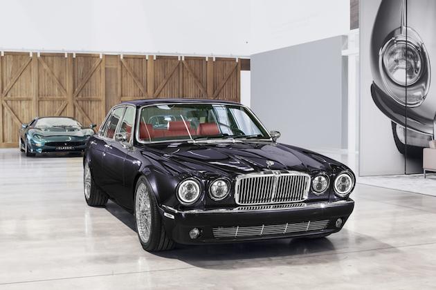 ジャガー、アイアン・メイデンのドラマーがオーダーしたハードロックな1984年型「XJ6」を製作!