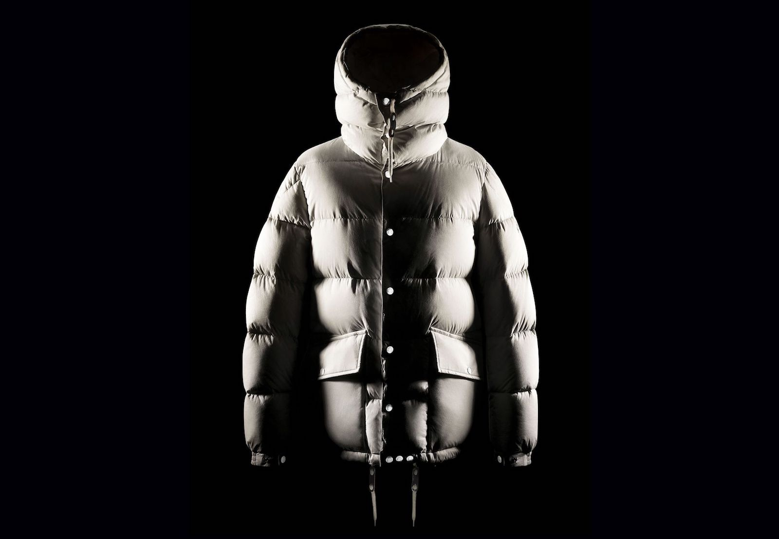 An RFID-equipped jacket from Moncler.