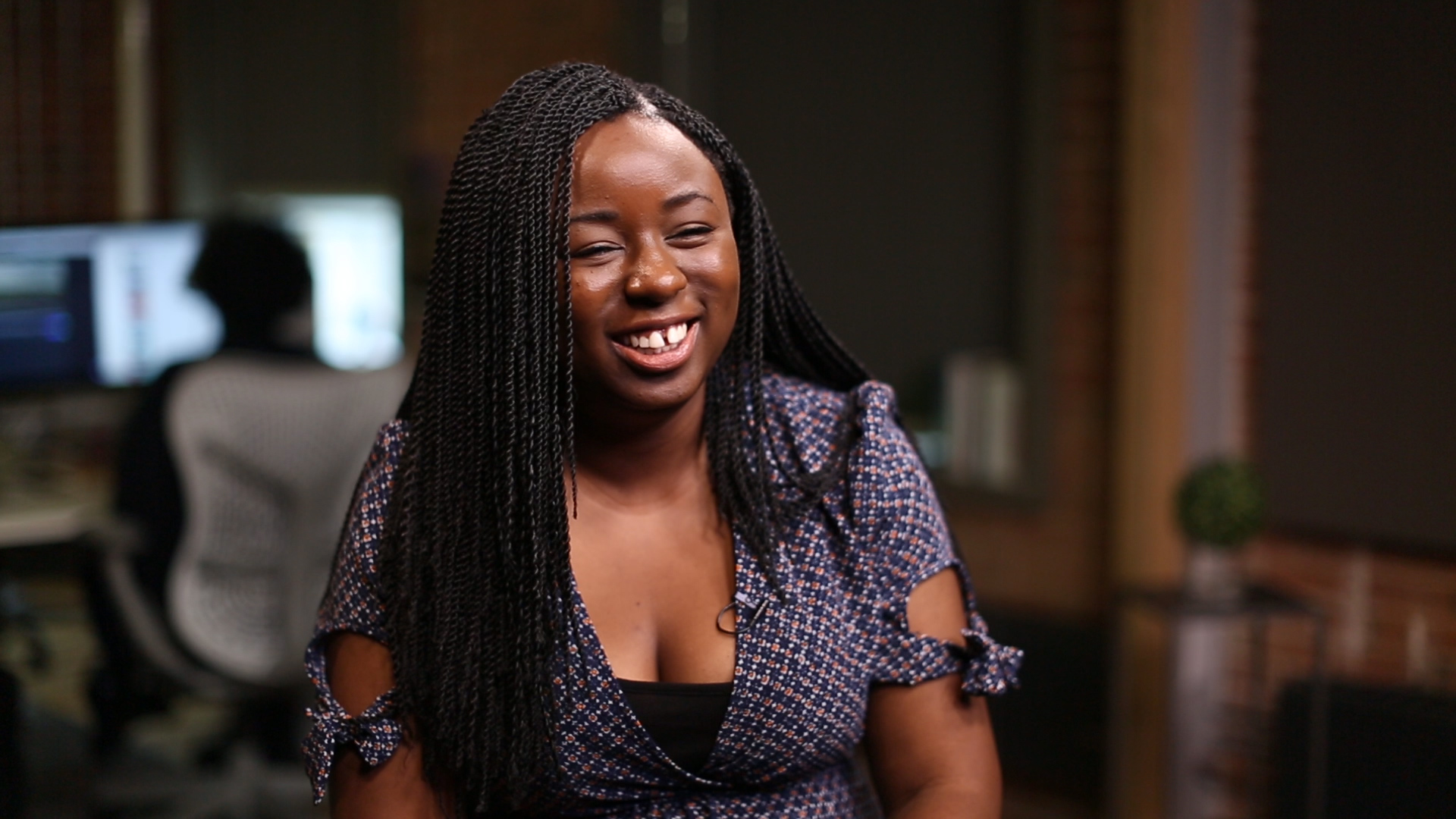 Kharroll-Ann Souffrant speaks to HuffPost Canada in our studio in July 2017. (Photo: HuffPost