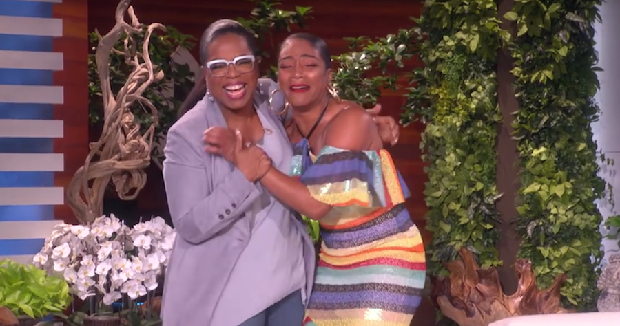 Tiffany Haddish meeting Oprah for the first time will make you cry