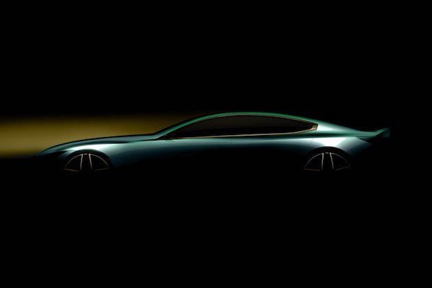 BMWが流麗な4ドア・クーペをチラ見せ! 新型「8シリーズ グランクーペ」か!?