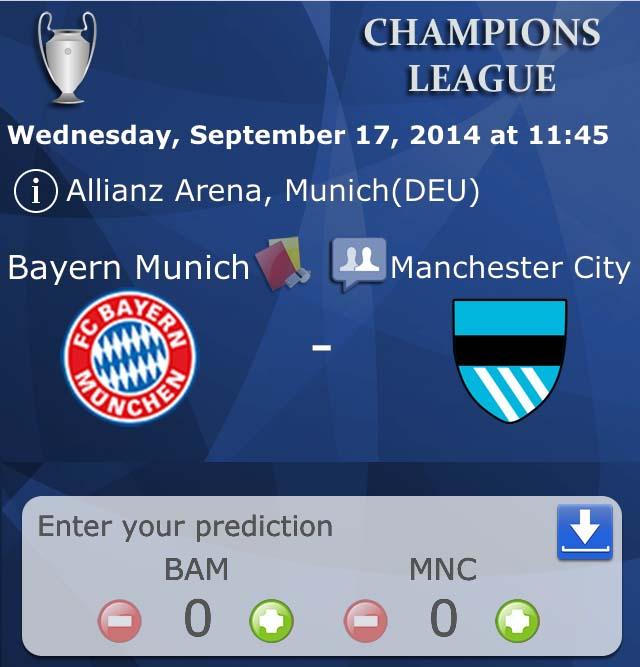 Champions League 2014-2015 screenshots