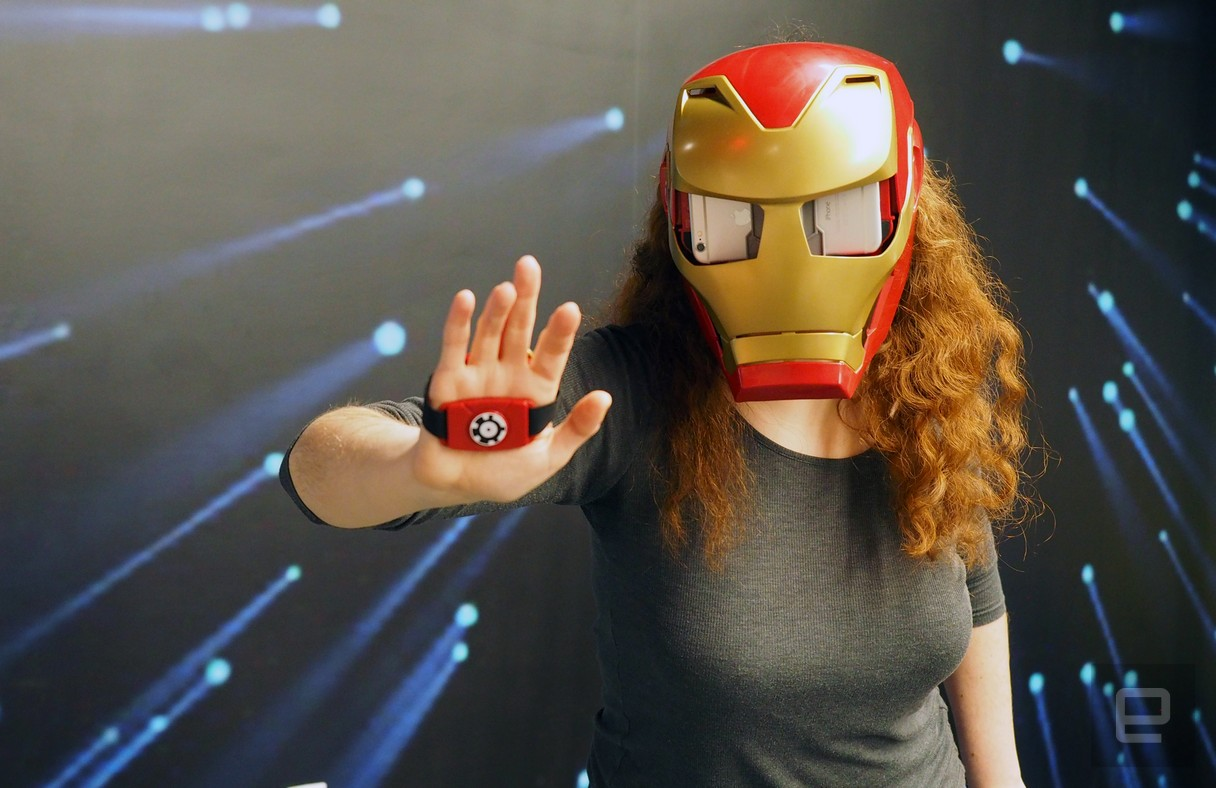 You Can Be Iron Man With Hasbro's New AR Helmet