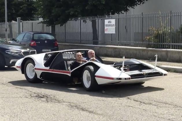 【ビデオ】グリッケンハウス氏が購入したピニンファリーナのコンセプトカー「モデューロ」試運転の様子を公開!