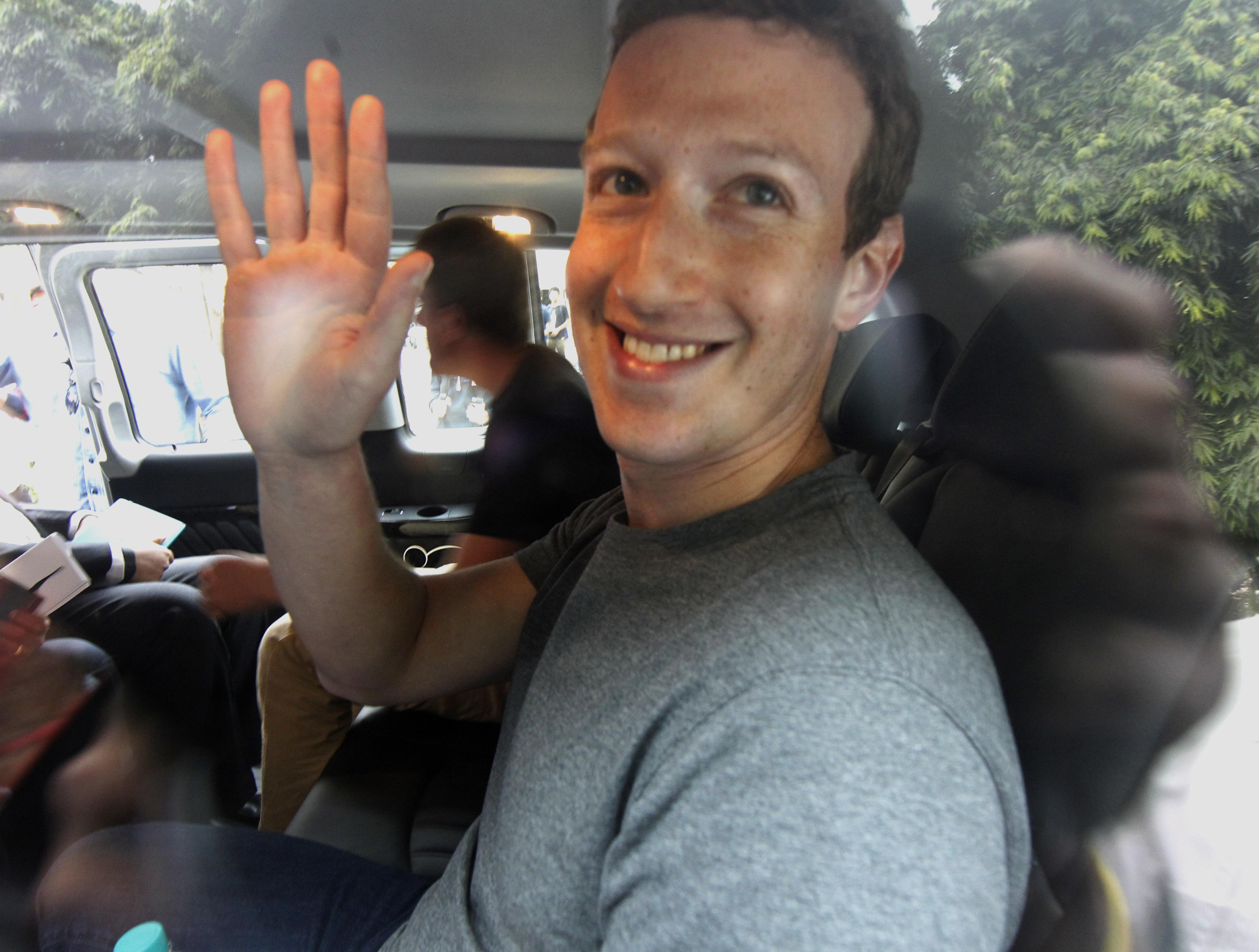 Facebook CEO Mark Zuckerberg At IIT Delhi