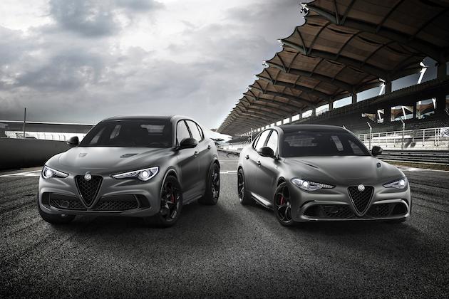アルファ ロメオ、ニュルブルクリンク最速ラップを記念して「ジュリア」と「ステルヴィオ」の限定モデルを発表!