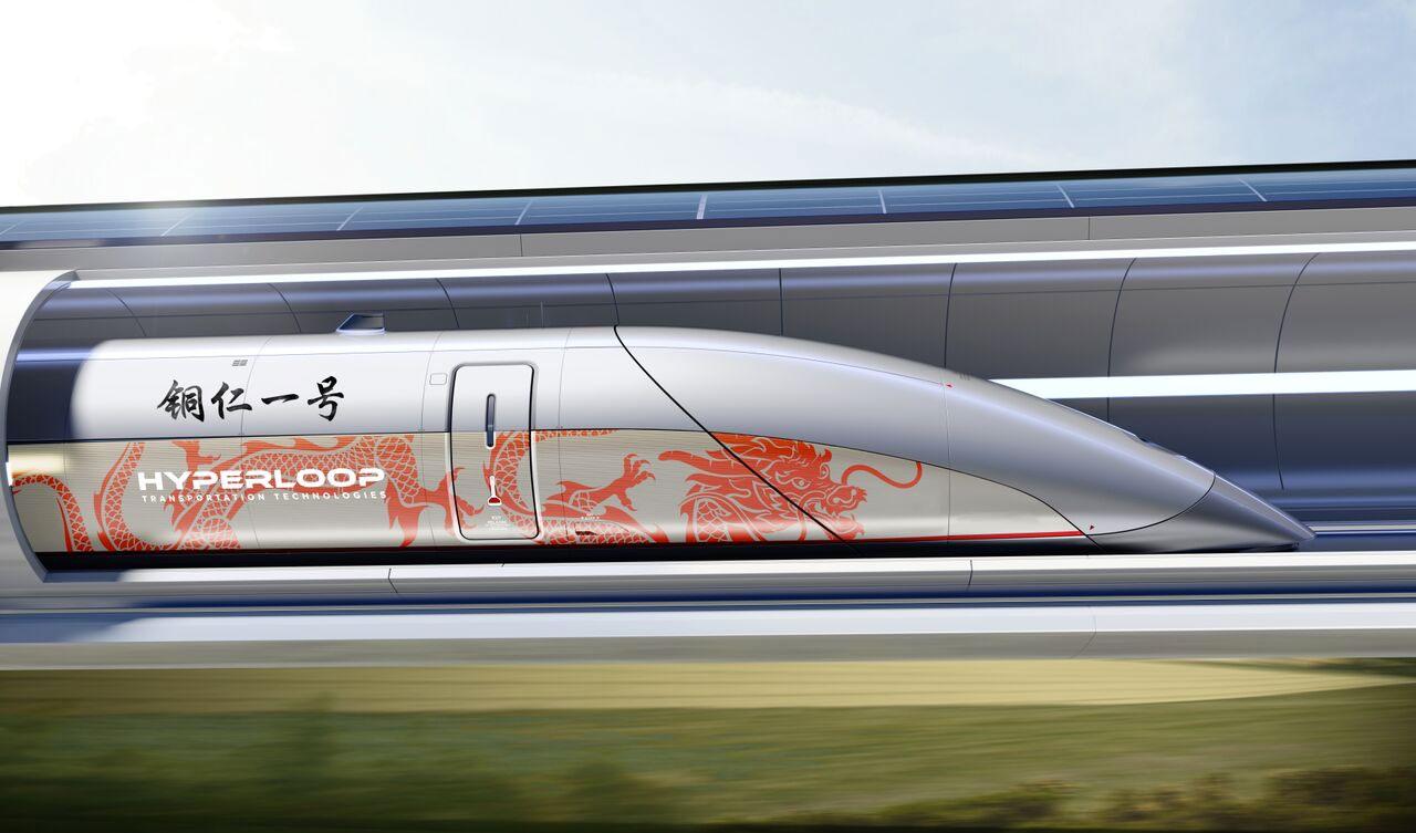 Hyperloop TT 将在贵州建造一条试行管道