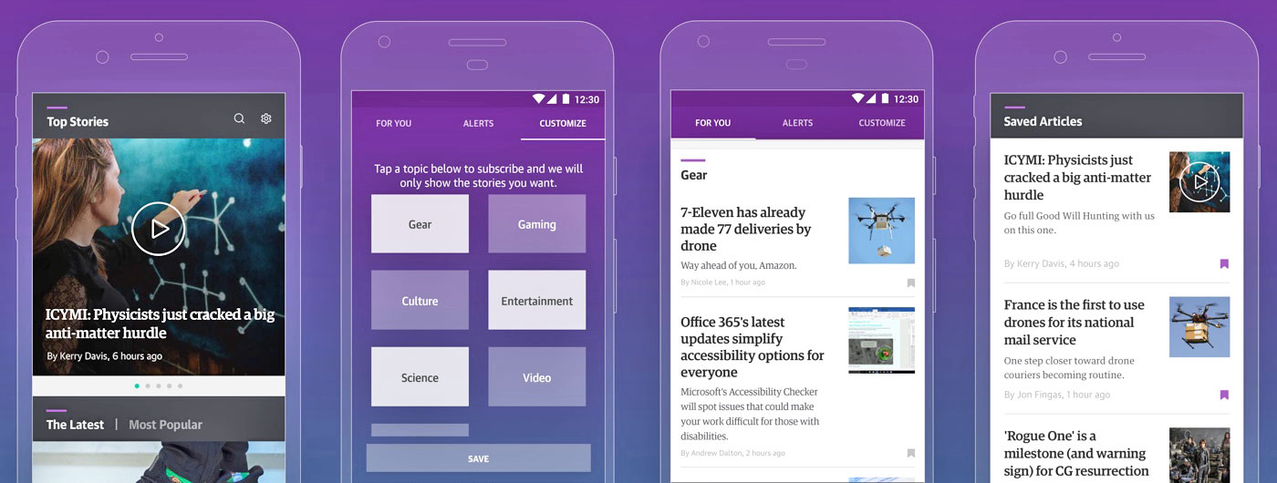 Introducing the new Engadget app!