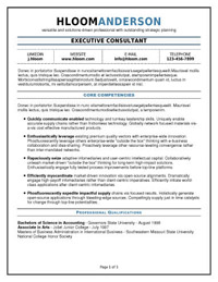 hloom has a great section of ats optimized resumes these layouts use prominent headers and traditional fonts they are designed to potentially insert