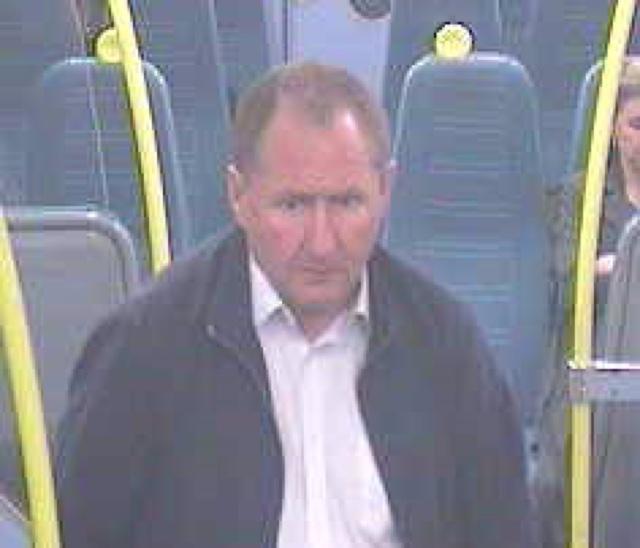 Man's ear bitten in train attack
