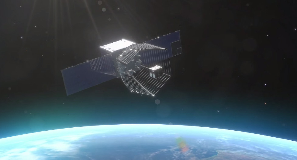 Real Life PacMan Satellite Will Clean Up Space Junk - Real life satellite view