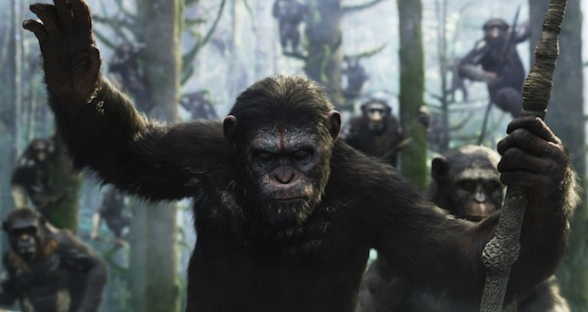 Weekend Box Office Planet of the Apes