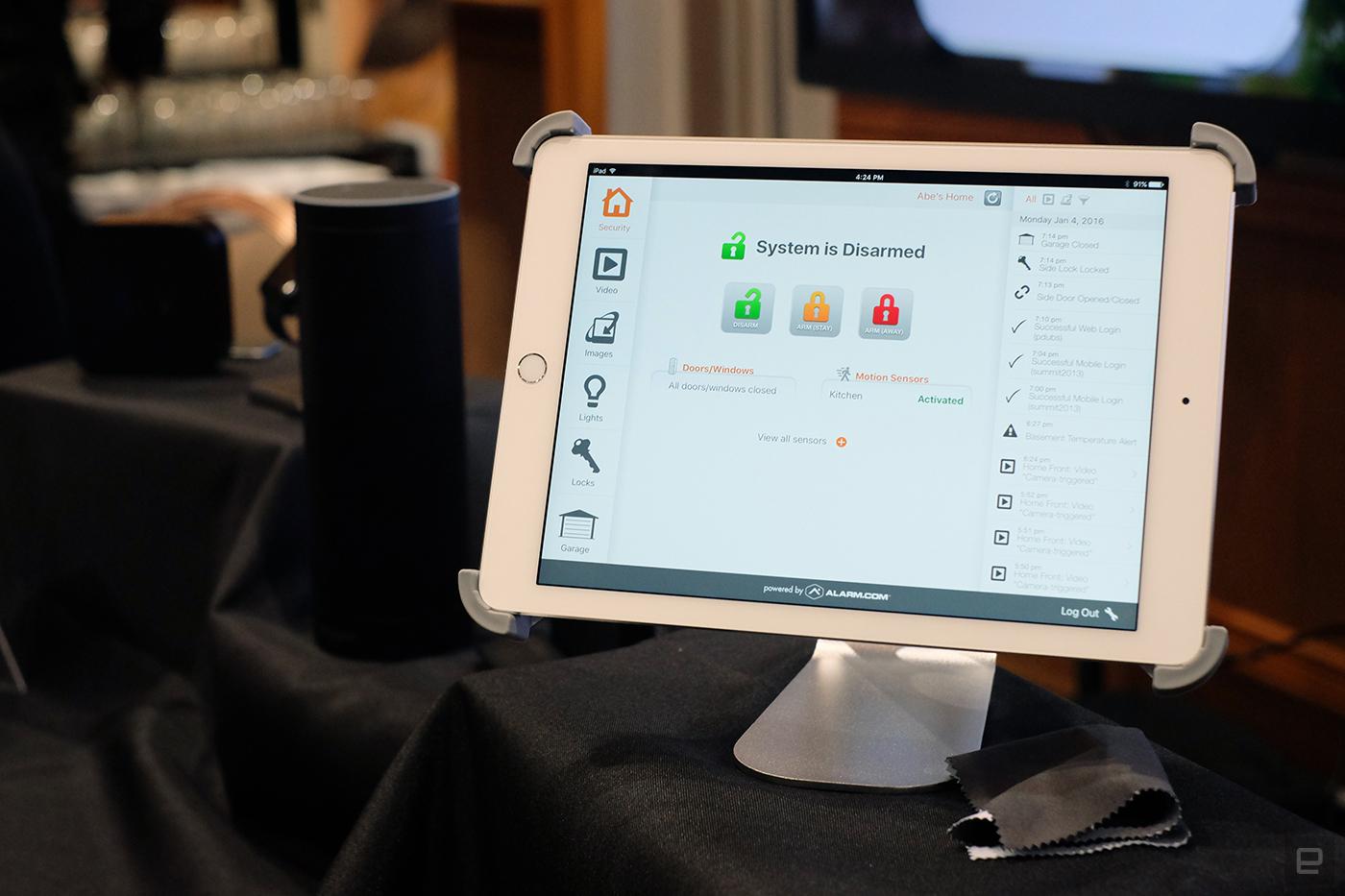 Alarm.com adds Apple TV and Amazon Echo support
