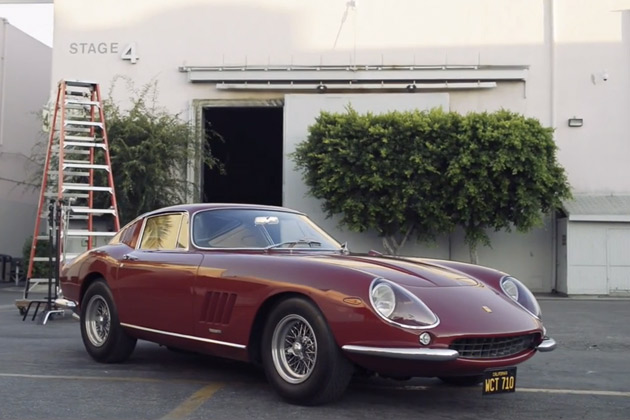 【ビデオ】スティーブ・マックイーンが愛した、1967年型フェラーリ「275GTB/4」