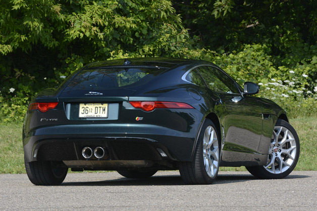 autoblog coupe price review jaguar type f s