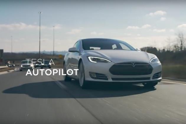 【ビデオ】テスラ、初の公式プロモーション映像を公開 オートパイロット機能で通勤をより快適に