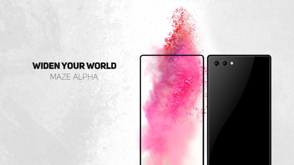 Maze Alpha randloses Smartphone aus China