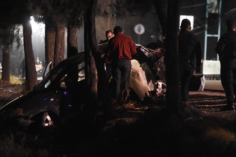 La tragedia del menor de 12 años que conducía a 150 km/hr y que dejó 5 adolescentes