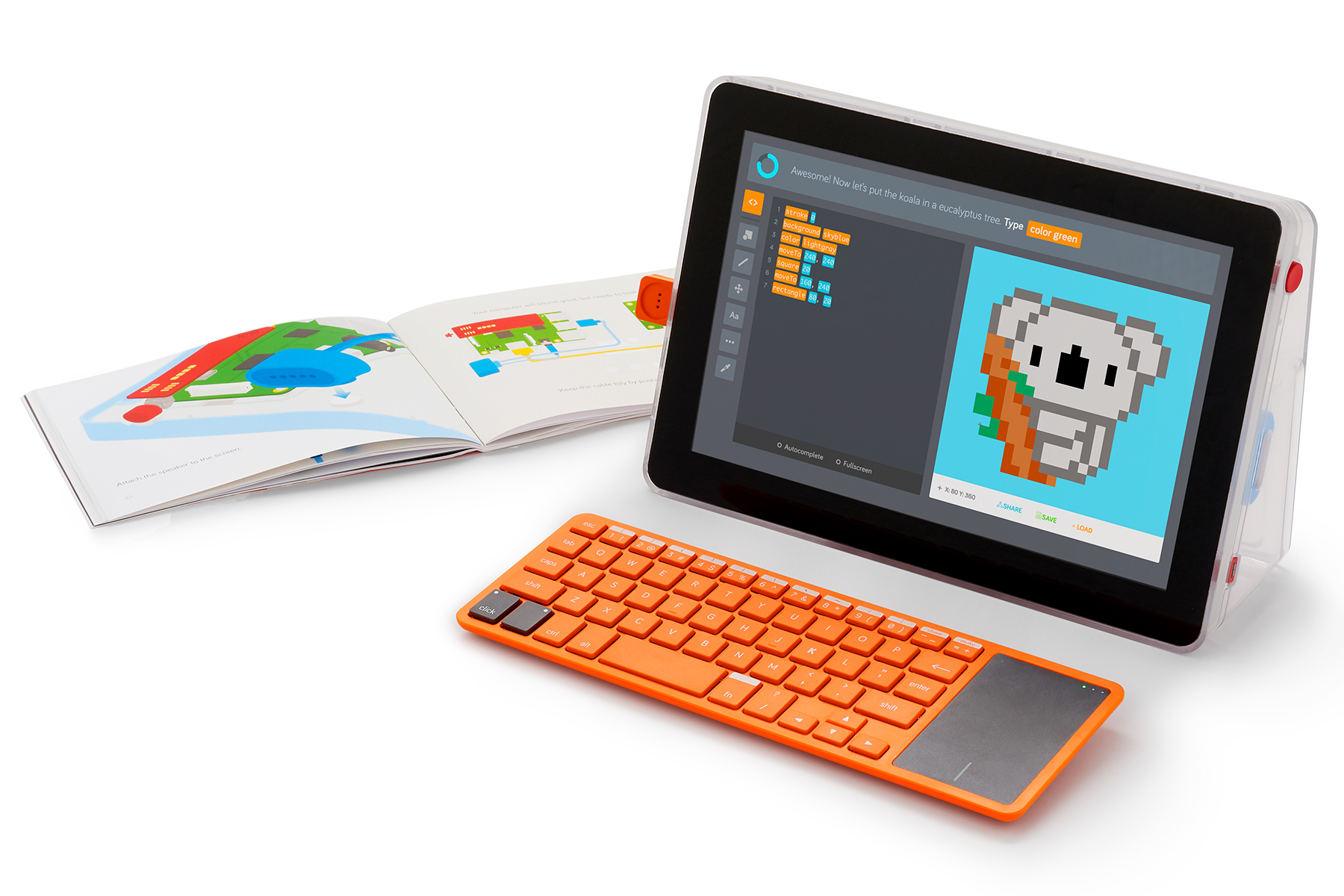 Kano combines its coding kits for a diy laptop kano solutioingenieria Image collections