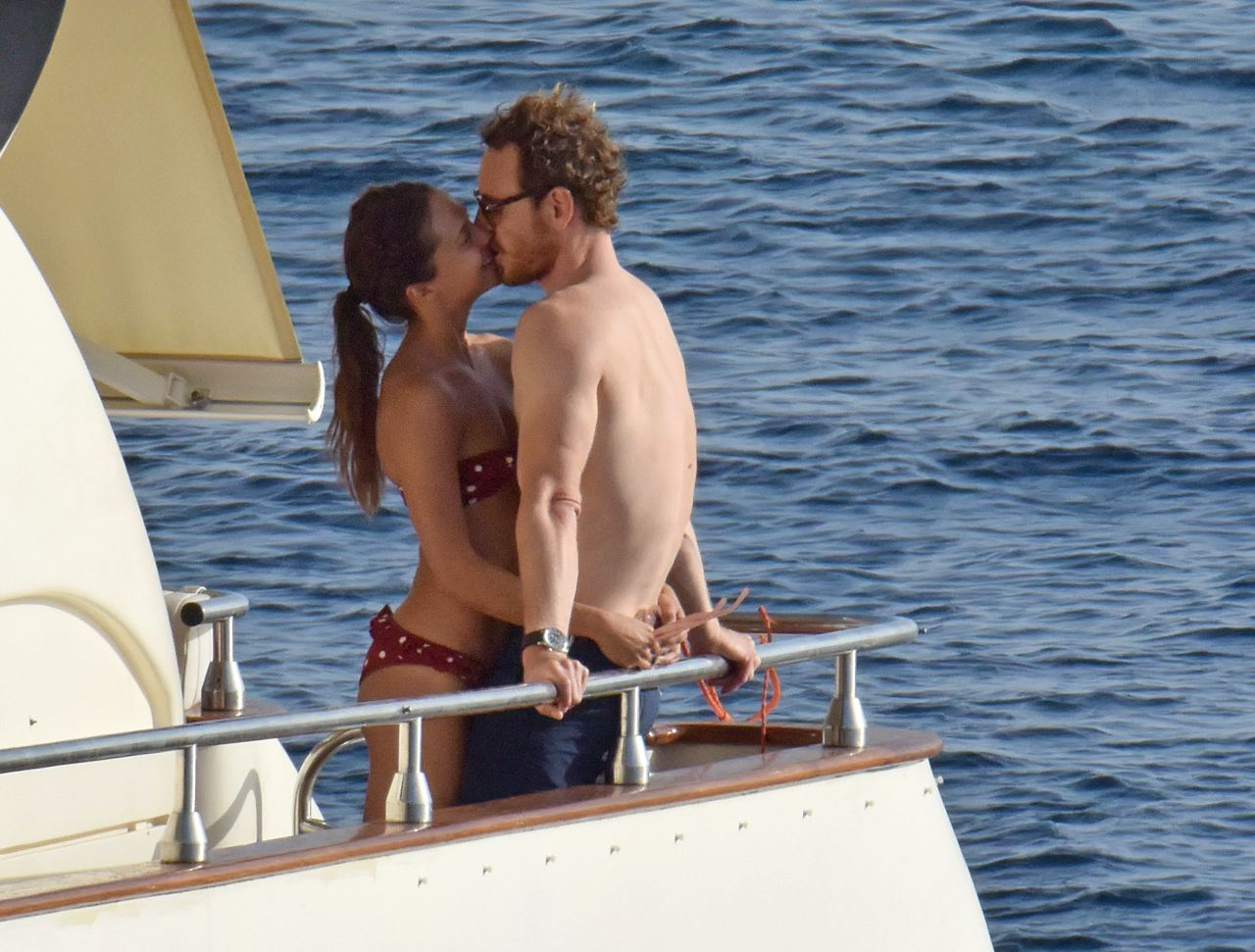 EXCLUSIVE: Actors Alicia Vikander and Michael Fassbender on holidays in Formentera, on Wednesday 5th July, 2017. <P> Pictured: Alicia Vikander and Michael Fassbender <B>Ref: SPL1533416  050717   EXCLUSIVE</B><BR/> Picture by: Splash News<BR/> </P><P> <B>Splash News and Pictures</B><BR/> Los Angeles:	310-821-2666<BR/> New York:	212-619-2666<BR/> London:	870-934-2666<BR/> photodesk@splashnews.com<BR/> </P>