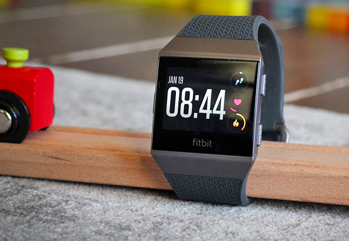 Fitbit Ionic is a great smartwatch for this new dad