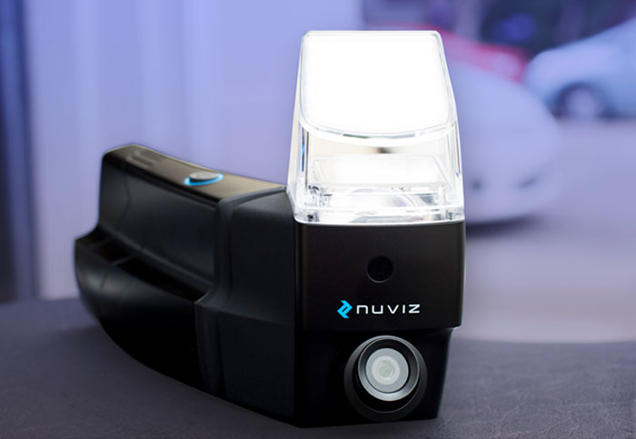 Nuviz Motorcycle HUD | Hands-On