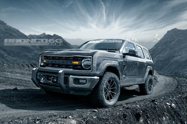 【予想画像】2020年に復活するフォード「ブロンコ」の4ドア・モデルはこうなる!?