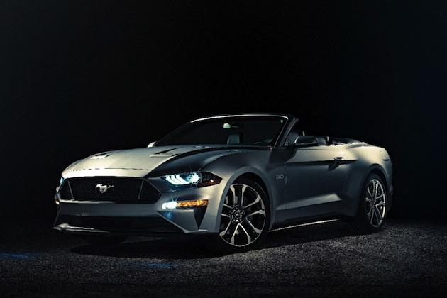 フォード、リフレッシュされた2018年型「マスタング コンバーチブル」を発表