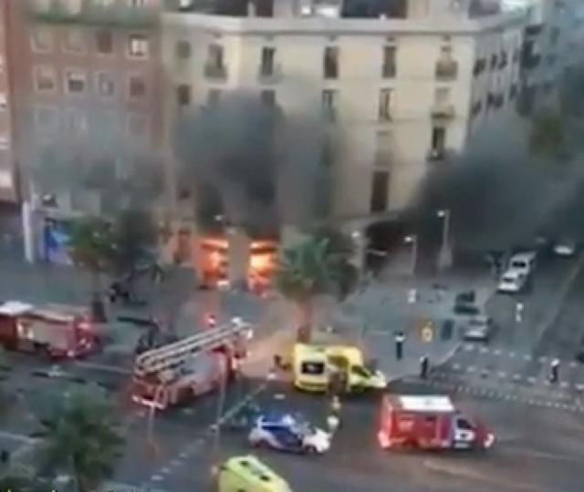 21 injured in Barcelona bakery explosions