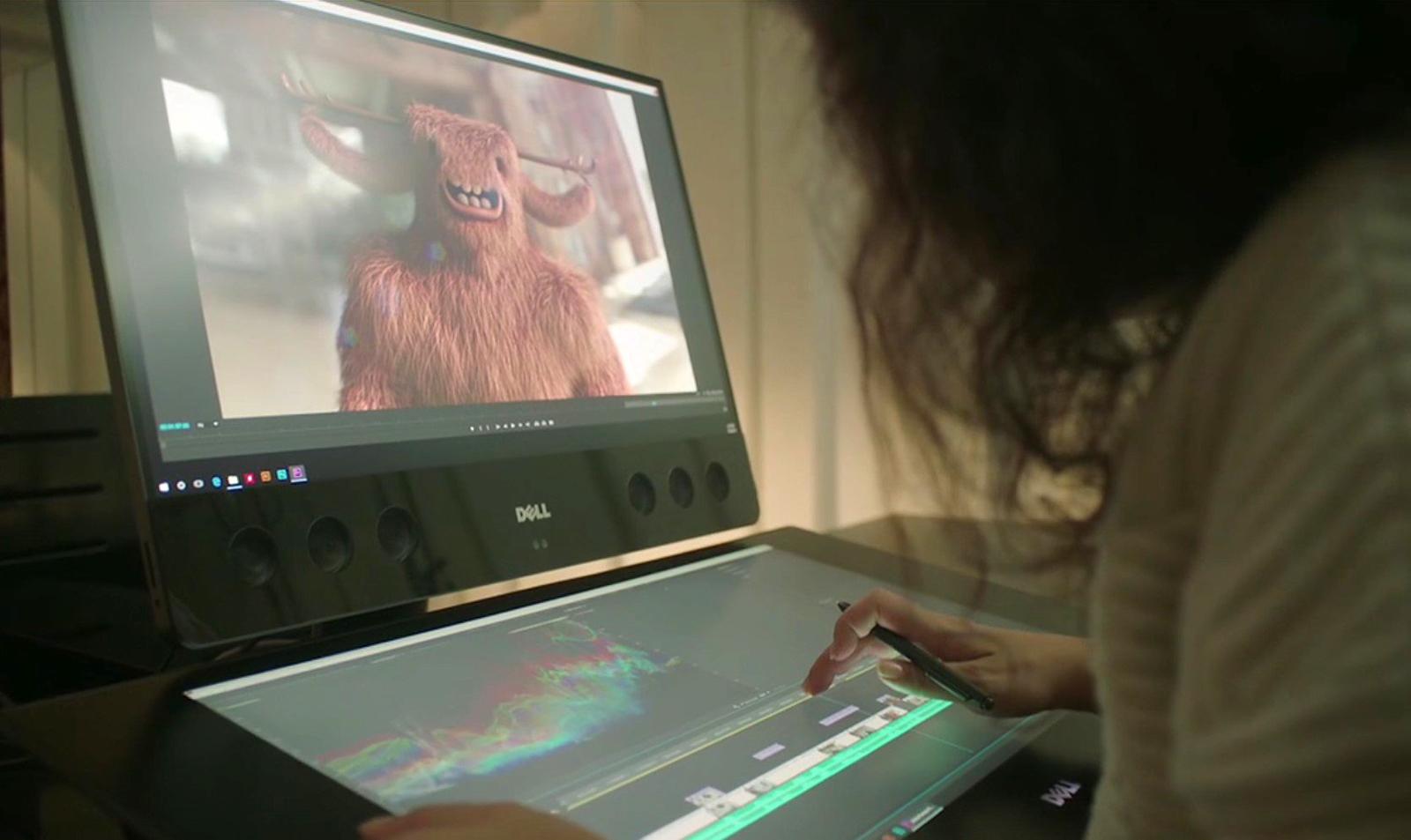 戴尔也在打造「创意」型 AIO 电脑