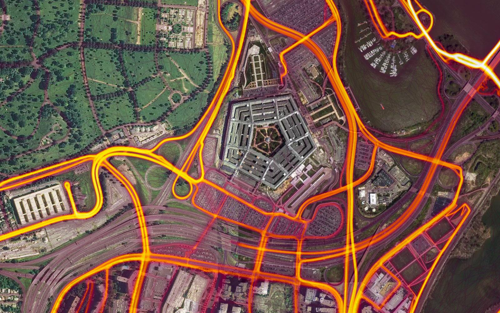 Strava Heat Maps Strava's fitness heatmaps are a 'potential catastrophe'