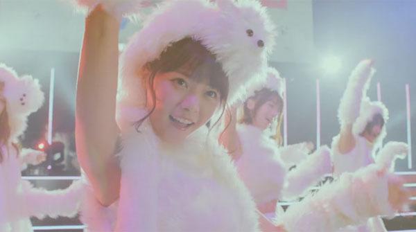乃木坂46がワンコ風の白モコ衣装で歌って踊る姿があざと可愛 ...