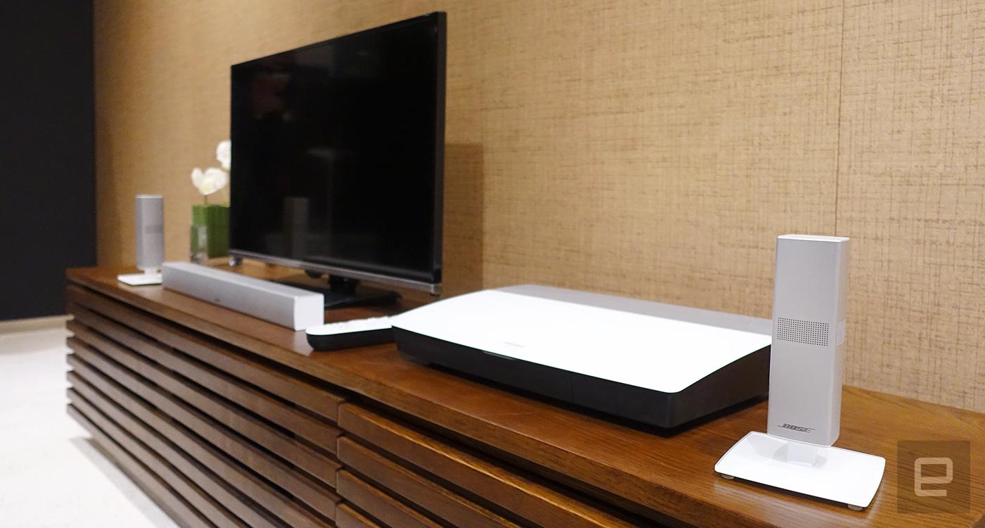 Bose 新推两套家庭影音系统,小巧、强悍