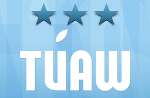 TUAW rating, three star rating out of four stars possible