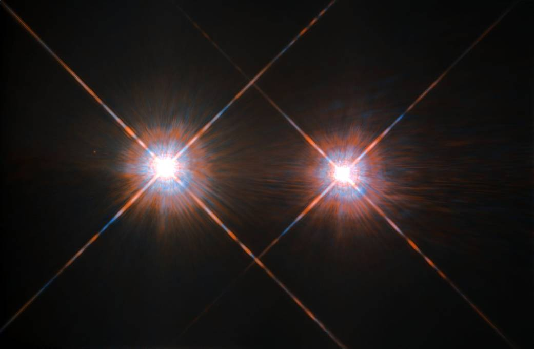 El sistema estelar Alpha