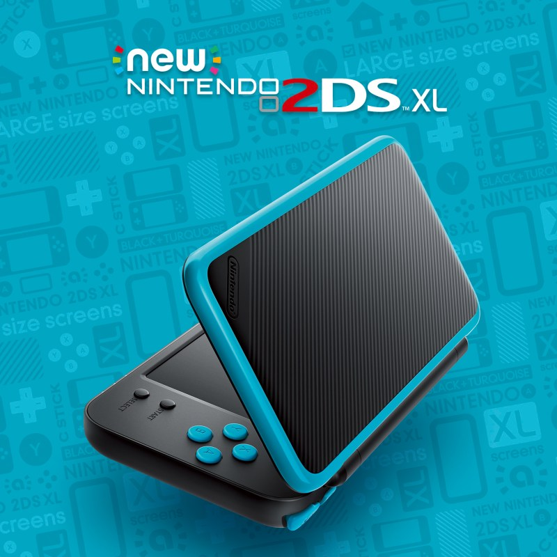 Blue/black 2DS XL