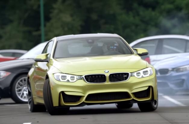 【ビデオ】BMWの新型「M4」を歴代のMカーがお出迎え!
