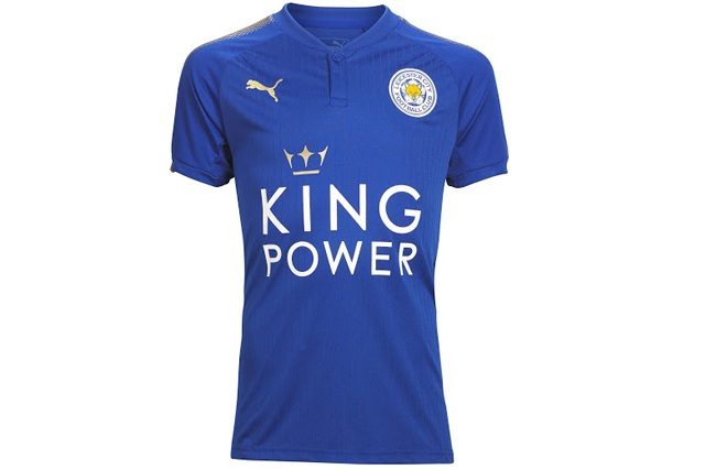 Leicester City FC home shirt 2017/18