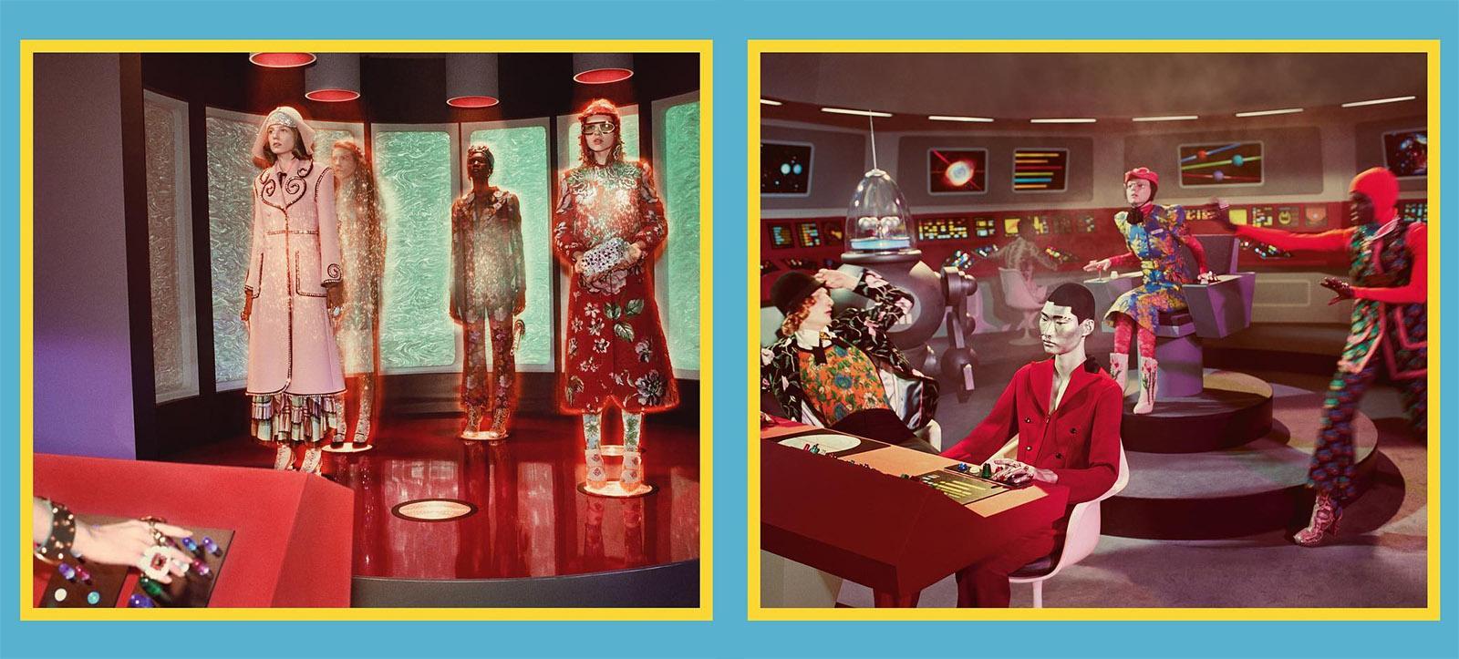 Gucci Benz >> Gucci's latest fashion is a retro sci-fi mashup