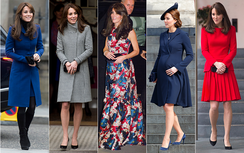 2014 wrap-up: A year of style with Kate Middleton