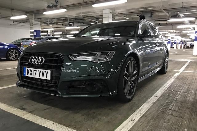 Audi a6 avant black edition review