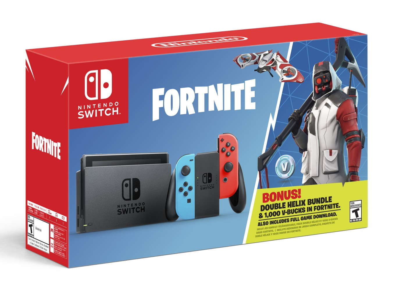Fortnite\' Switch bundle arrives October 5th with in-game perks